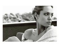 angelina jolie wedding - Wall Poster Decal for Wedding Festival Home Decoration Angelina Jolie Amazing Poster For Rooms Party