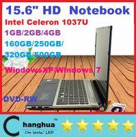 Wholesale 15 inch Laptop Computer Celeron U G RAM G HDD GHZ with DVD Burner WIFI Webcam DHL FREE