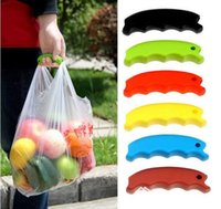 Wholesale Carrying Handle Tools Silicone Knob Relaxed Carry Shopping Handle Bag Clips Handler Kitchen Tools