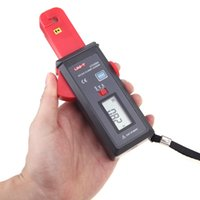 Wholesale Sensitivity DC AC Clamp Leaker Meter Leakage Current Tester Ammeter Ampere Analog Meter UNI T UT258A Amperimetro Amperemeter order lt no tra