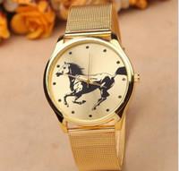 best name brand dress - Gold geneva Watch Full Stainless Steel Woman Fashion Dress Watches New Brand Name Geneva Quartz Watch Best Quality G