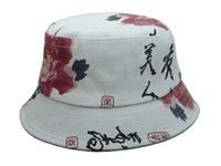 kangol hats - Fisherman Hat Hot new Floral Script classic Bucket Hats men cotton designer flower Kangol galaxy camo money sports caps
