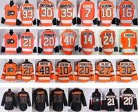 bernie parent jersey - Factory Outlet Philadelphia Flyers Hockey Jerseys Bernie Parent Couturier Lecavalier Schenn Clarke Voracek Talbot Br