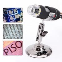 De los Estados Unidos! 50-500x Microscopio digital portátil de la lupa del endoscopio de 2MP 8 LED USB cámara electrónica microscopios de vídeo