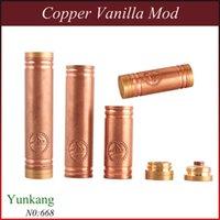 Cheap copper Vanilla Mod copper Vanilla Mod Best mechanical mod 510 thread Vanilla Mod