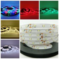 wired christmas ribbon - 5M V SMD LED Strip Light Waterproof leds LED ribbon Christmas lighting home led strip utop2012