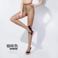 Wholesale 5D plus summer thin breathable T file anti off silk silky feel invisible silk stockings Siamese