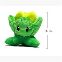 Wholesale Newest cm Plants Vs Zombies Plush Toy Pure Cotton Toy Pea Shooter Sunflower Squash Zombie Hobbies Stuffed Gift TY142