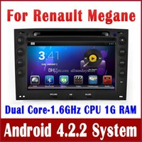 renault megane 2 - Android Car DVD Player GPS Navigation for Renault Megane with Radio BT TV USB SD MP3 Auto Audio Video Stereo G WIFI Tape Recorder