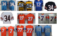 Unisex throwback football jersey - all cheap american football throwback jerseys by DHL EMS just arrived at USA