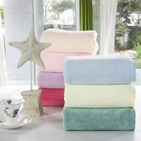 Wholesale 2015 New Silky environmental health candy fibre bath towel