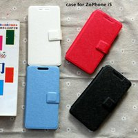 Wholesale Pu leather case for ZoPhone i5 case cover