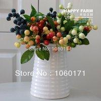 artificial blueberries - wedding decoration table decorative flowers artificial plants blueberry hochzeit dekoration plantas artificiais decoracion hogar