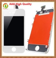 phone display - 50pcs For iPhone S LCD Touch Screen Display AAA High Quality Digitizer Replacement With Full Frame Assembly with free charge phone film