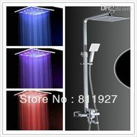 big laundry tub - mixer antique inch big led shower sets square rainfall shining bath mixer faucet tap whole set steel laundry tub