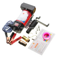 Wholesale 2015 New V Portable Electric Pump for Diesel Oil Submersible Transfer Pump L Min Motor W order lt no track