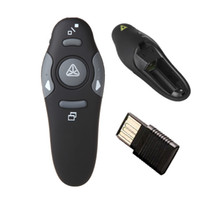 wireless rf remote control - RF GHz Wireless USB PowerPoint PPT Presentation Presenter Mouse Remote Control Laser Pointer Pen With USB Receiver