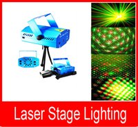 Wholesale Mini Laser Stage Lighting mini Green Red Laser DJ Party Stage Lighting Light Disco Laser lighting Mini Red Green Moving Party Stage Lighting