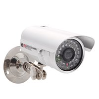 Wholesale 1 quot TVL HD LED CCTV Security Camera Outdoor IR Night Vision White