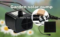 Wholesale New Solar Power Fountain Pool Water Pump Garden Plants