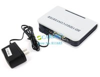 Wholesale 3PCS New Digital P PC VGA To High Definition Multimedia Interface mm Audio HD Video Converter Adapter HDTV DVD