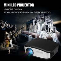 Wholesale CHEERLUX C6 Mini LED LCD Projector x480 Pixels Lumens Home Theater HDMI USB VGA AV TV Proyector For