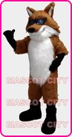 Custom Made athletic glasses - red glass fox mascot costume fancy costume cosply kits theme mascotte fancy dress carnival costume