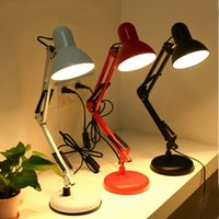 american jobs - Simple LED creative usb computer desk lamp eye study of American long arm folding desk job bedroom bedside lamp