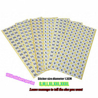 clothing labels - Functional diy garment size labels stickers for clothing L S M XL XXL XXXL