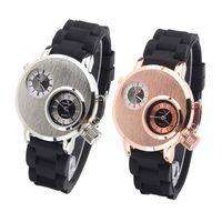 Wholesale V6 brand men s fashion men s military watch quartz movement watch adjustable rubber leisure Reloj Dual dail V6 V6 watch for men watch