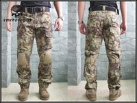 bdu style pants - Men Military Airsoft Hunting bdu Pants EMERSON CP Style Gen2 Tactical Pants with Knee Pads Mandrake EM7034