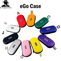 Wholesale Ego Case with Zipper E Cig Pocket E Cig Box Electronic Cigarette Case for Traveling Via DHL
