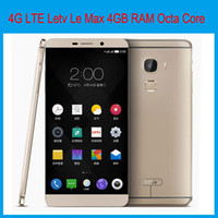 Wholesale Letv Le Max GBRAM GB GBROM inch K Screen Qualcomm Snapdragon Android5 MP Camera G LTE NFC SmartPhone