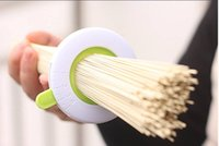 Cheap 1pc lot Home Round Shape Adjustable Spaghetti Pasta Noodle Measure Portions Controller Limiter Tool