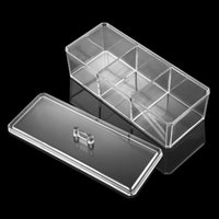 alps products - Multi functional Plastic Transparent Cosmetic Organizer Jewelry Makeup Products Storage Box order lt no track