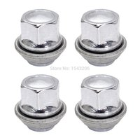 alloy wheel nuts ford - 4x M12x1 REPLACEMENT WHEEL NUTS ALLOY MM FOR FORD C MAX CORTINA FOCUS CHROME small order no tracking