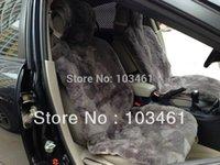 sheepskin car seat covers - 2pcs Patchwrok Sheepskin Car Seat Cover