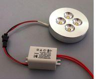 led furniture - 4pcs AC85 V X3W W Warm Cold White LED Puck light led puck lamp led furniture light