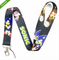 Wholesale Sonic Lanyard with Lobster Clasp Fit Key ID Mobile Cell Phone Key chain XXSH21