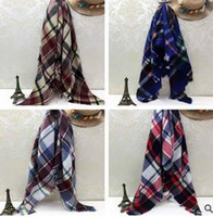 cotton shawls and scarves - Fashion Wool Winter Scarf Women Scarf Plaid Thick Brand Shawls and Scarves for Women Imitation cashmere Neck Warmer