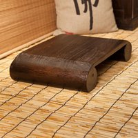 antique wood benches - Japanese Antique Low Stool Bench Chair Paulownia Wooden Asian Traditional Furniture Living Room Portable Stand Vintage Stool