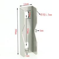 Wholesale 304 Corner reinforcement angle iron fittings U x24x80 mm pitch