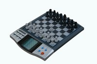 chess - Powerbrain Electronic Chess computer Magnetic talking function LCD display games included