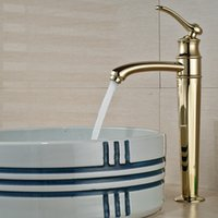 bathroom vanity - And Retail Single Handle Hole Deck Moutned Tall Bathroom Faucet Vanity Sink Mixer Tap Solid Brass Faucet