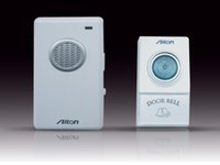 Wholesale V002A AC wireless Digital Doorbell Remote Control Door Bell Chime V002A tunes V V in retail package