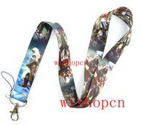 Wholesale Popular Assassins Creed Lanyards Keychain ID Badge Holder u38