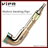 al por mayor cigarrillo electrónico x1-2015 ViPR Moderno tubo de fumar Holmez X1 Vaporizador China Cigarrillo electrónico con control de potencia 15Watt