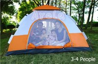 Wholesale High Quality Windproof Waterproof mm Outdoor Tent Person Camping Tent Outdoor Instant Family Camping Dome Waterproof Tent Hex Durable