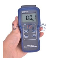 Wholesale electromagnetic radiation detector EMF828 Proper frequency Hz Hz use for power wire computer monitor TV audio and visual C