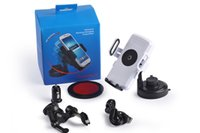 auto cell phone mounts - Wireless Car Charger Qi with high quility Auto Mount Cell Phone Holder for iPhone LG Google Nexus Black and White Hot Sale